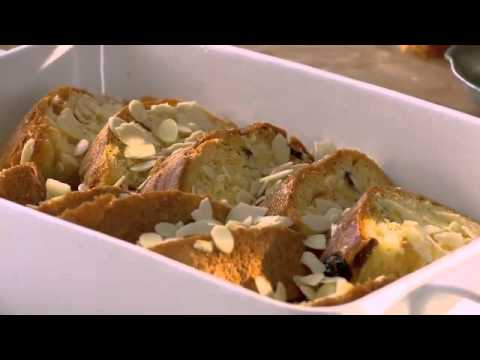 Gino D'Acampo : Amaretto, Panettone & Butter Pudding Recipe