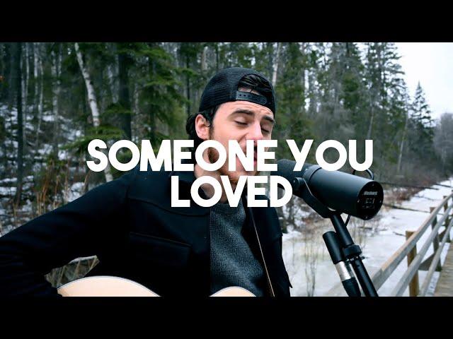 Lewis Capaldi - Someone You Loved (Jordan Hart Acoustic Cover)