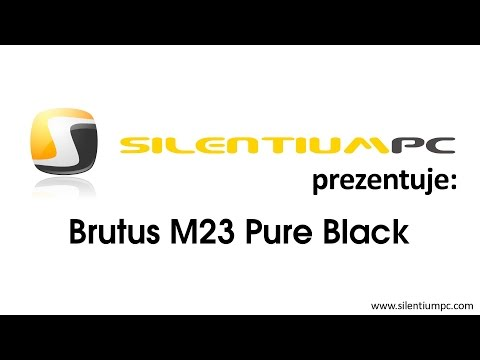 SilentiumPC Brutus M23 Pure Black - prezentacja