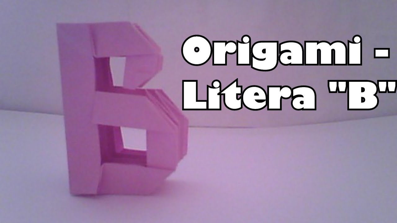 Papercraft Origami - Litera