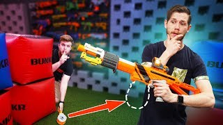 NERF Build-Before-Battle Challenge!