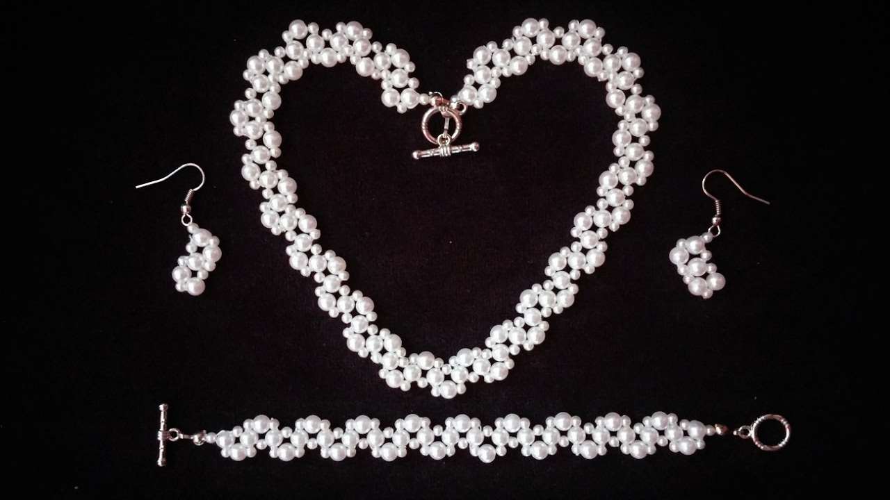 DIY Elegant Jewelry Set for any special occasion. Beginners ...