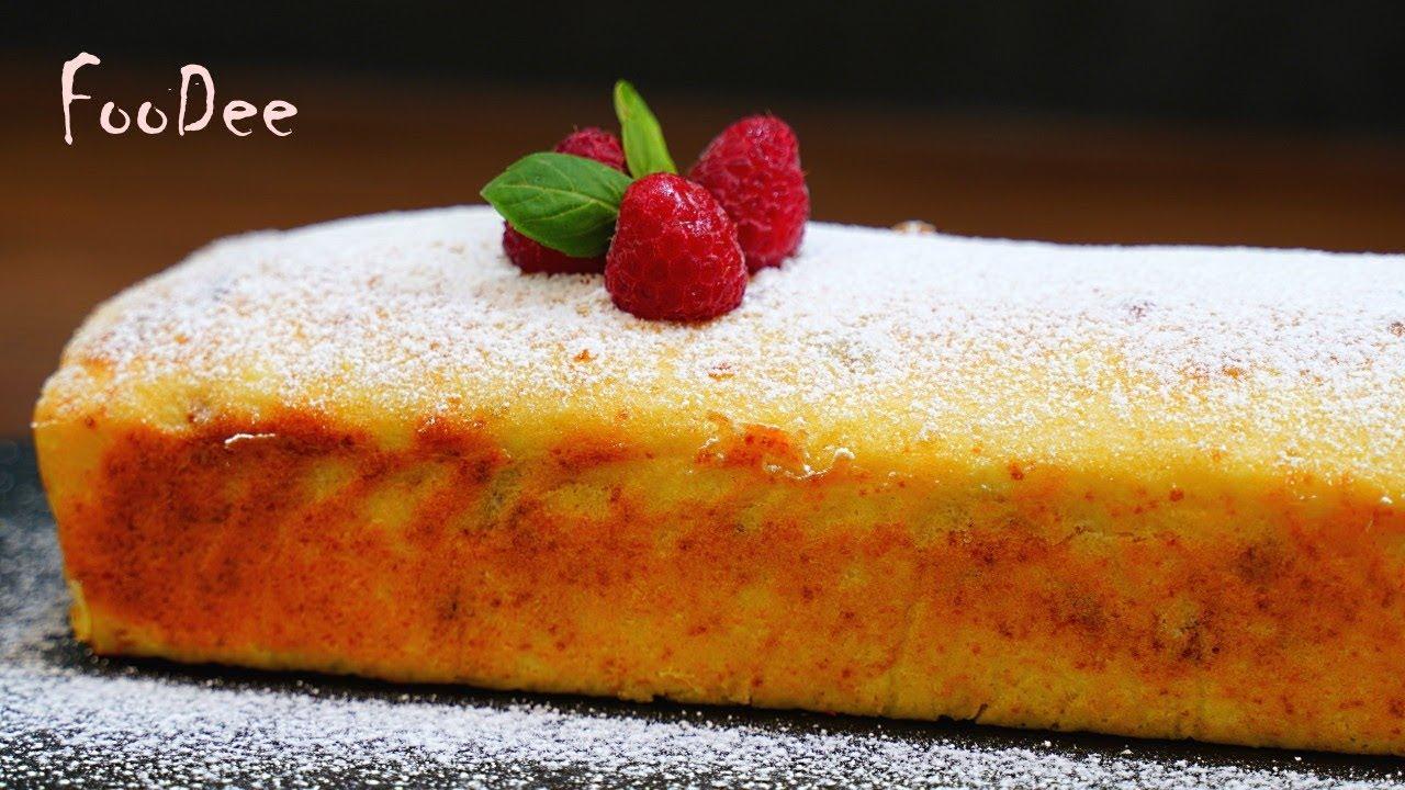 Проще, чем пожарить сырники – всё смешать и в духовку! Творожный кекс «Минутка»