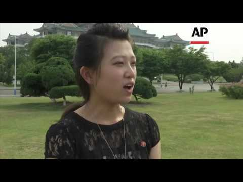 Pyongyang residents react to missile launch