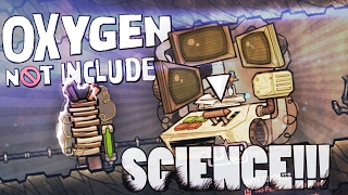 Oxygen Not Included - SUPER COMPUTER SCIENCE!! (Oxygen Not Included Game / Gameplay)