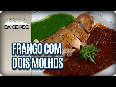 Receita de Frango com Dois Molhos - Revista da Cidade (23/01/17)