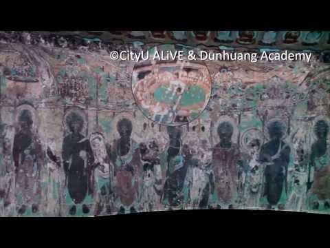 Digital 3D Dunhuang Caves exhibit at the Hong Kong Book Fair
