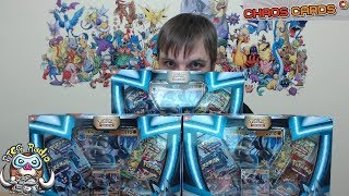 Opening Multiple Lucario-GX Pokemon Boxes!