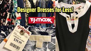 TJ Maxx Designer Summer Dresses For Less! SHOP WITH ME Michael Kors Dresses & More