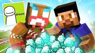 GETTING DIAMOND w/ LAZARBEAM (Dream SMP)