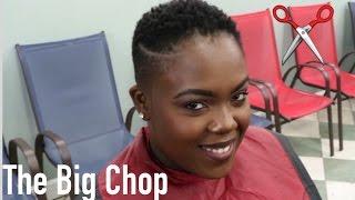 I CUT MY HAIR! |Big Chop on my 4C natural hair