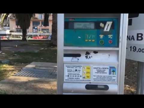 Как оплатить парковку в италии