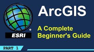A Complete Beginner's Guide to ArcGIS Desktop (Part 1) screenshot 3