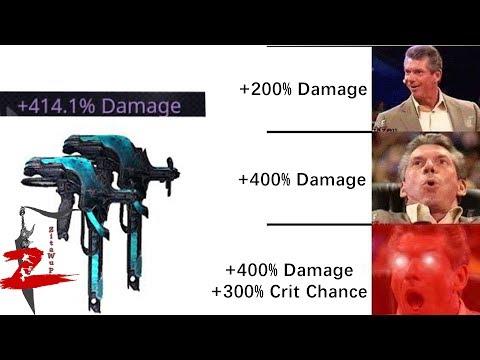 Warframe - Prisma Twin Gremlins Riven +100k Kuva 400%Damage OMG!