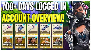 700+ Days Logged Into STW! Full Account Overview | Fortnite Save The World