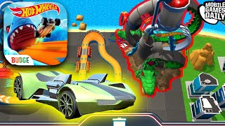 HOT WHEELS UNLIMITED - Dragon Fire Set Custom Track Gameplay (iOS, Android)