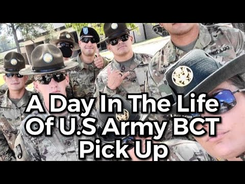 A Day In The Life Of U.S Army BCT Pick Up
