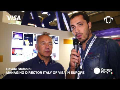 #CPIT1 - intervista a Davide Steffanini, Managing Director Italy of Visa in Europe