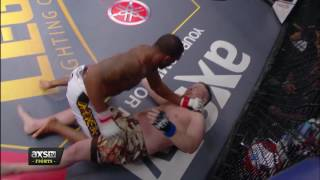 Best of 2016: Gerald Harris Slams His Opponent into Another Dimension at Legacy 63