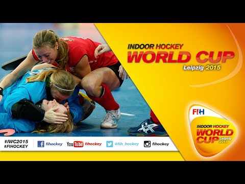 Belarus vs Austria - Full Match Women's Indoor Hockey World Cup 2015 Germany Quarter-Final