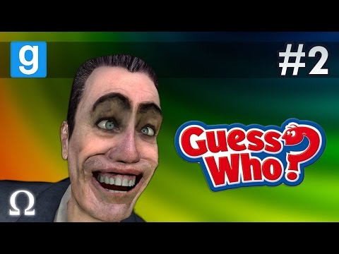 I'M ON A BOAT, HOT TUBS & KNOWLEDGE! XD | Guess Who #2 Garry's Mod