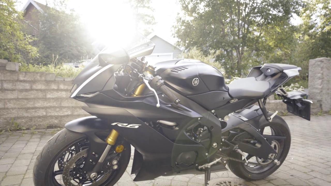 All New Yamaha R Black