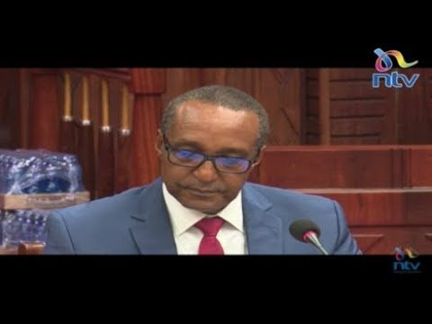 Macharia Kamau appears before committee on Defence and Foreign Relations