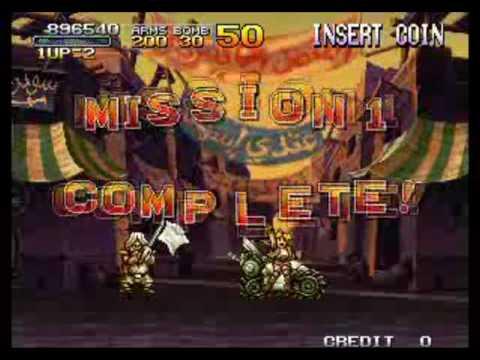 Metal Slug X (Expert) Mission 1 Complete!