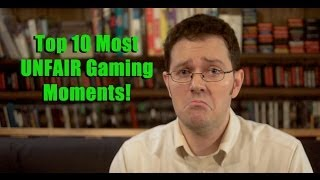 Top 10 Most Unfair Gaming Moments - AVGN Clip Collection