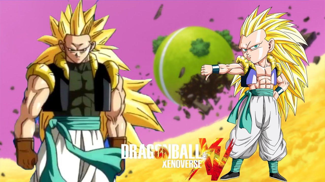 Dragon Ball Xenoverse Gotenks Adult Vs Gotenks Kid Super Battle ...