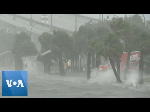 Hurricane Dorian: Strong Winds Hit Parts of Florida, As Hurricane Draws Closer