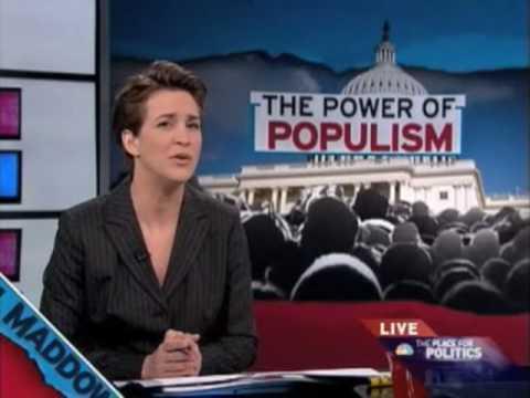 Rachel Maddow - The Power of Populism