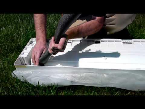 daikin split system installation instructions