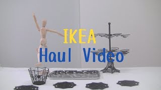 Ikea Haul Video