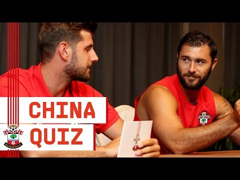 CHINA QUIZ | Charlie Austin vs Jack Stephens!