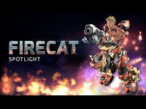 Firecat Battleframe Spotlight - Firefall