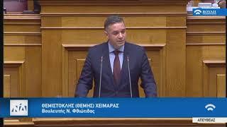 Ομιλία Θέμη Χειμάρα για την  Κύρωση Κρατικού Προϋπολογισμού οικονομικού έτους 2020