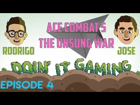 Ace Combat 5: WE FIGHT PUDDLE OF MUD - Ep 4 - Doin' It Gaming