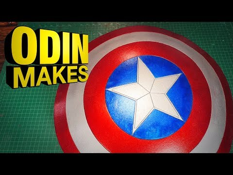 Odin Makes: Captain Americas Shield from the MCU