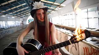 Wish you were here Pink Floyd - Maya Burns cover