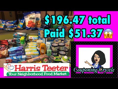 Harris Teeter Super Double Haul 8-6-17 to 8-8-17 Couponing Crystle
