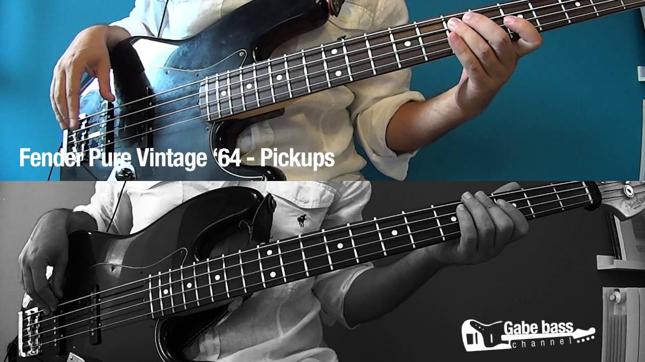 Bass Pickups Comparison : fender standard vs fender pure vintage 39 64 jazz bass pickup comparison youtube ~ Vivirlamusica.com Haus und Dekorationen