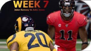 M20 - WEEK 7 Matchups I Julio Jones Vs Jalen Ramsey