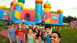 WORLD'S BIGGEST BOUNCE HOUSE [SO MUCH FUN]