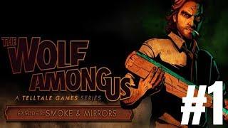 """The Wolf Among Us: S01E02"" (PS4) Let's Play - Part 1 - Dee's Interrogation & TJ's Confession!"