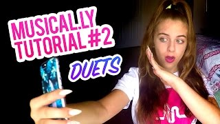 Musical.ly Tutorial Part #2 Making Duets! :)