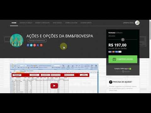 AÇÕES E OPÇÕES DA BM&FBOVESPA