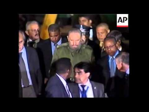 Presidents arrive for Mercosur trade meeting, Chavez comment