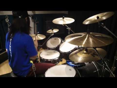 "Berryz工房 - シャイニングパワー ドラム演奏動画 ""Berryz Kobo Drums"""