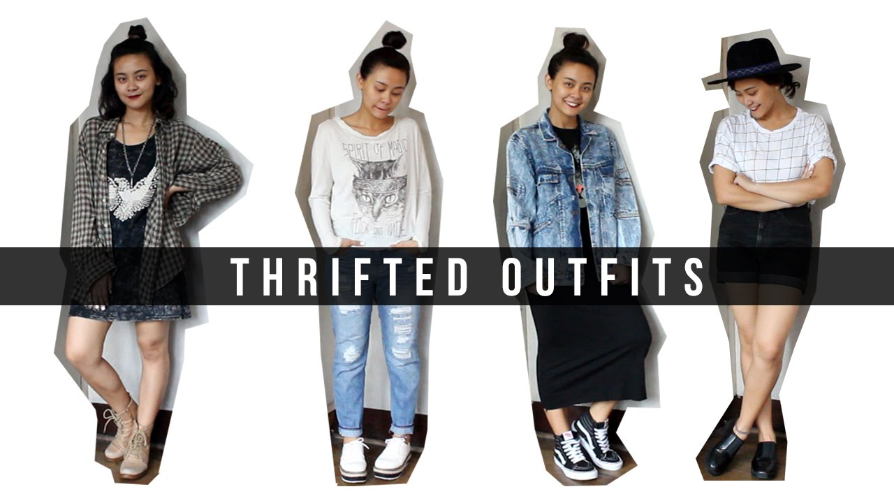 THRIFTED OUTFITS #1   Style Siren - YouTube